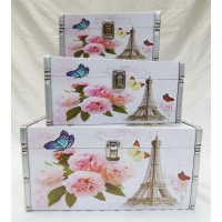 Paris Rose - 3 Set Storage Box
